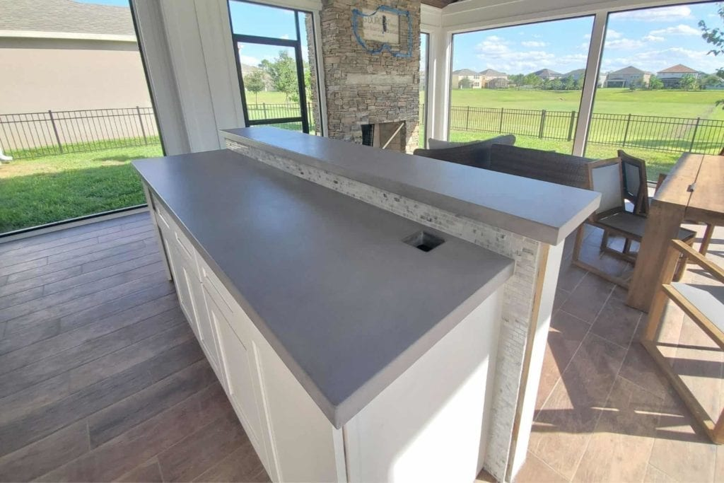 Residential Concrete Countertops