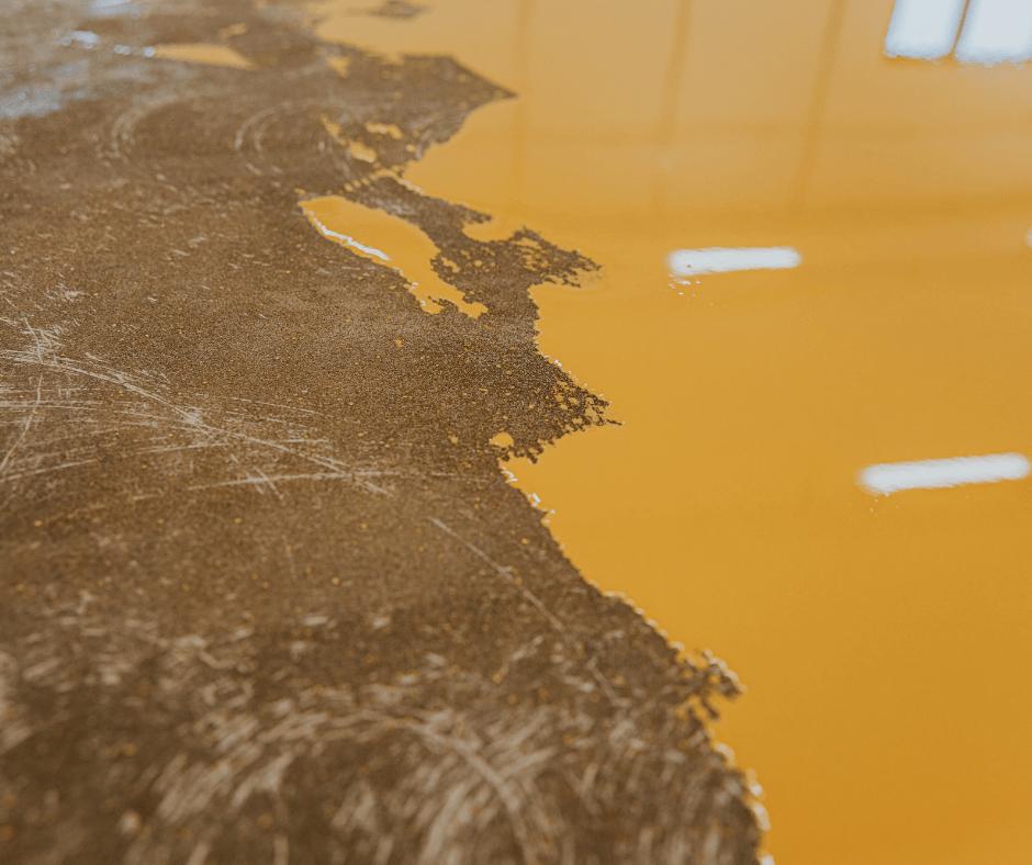 Epoxy Flooring Peeling